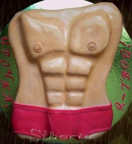 Как сделать торт тела